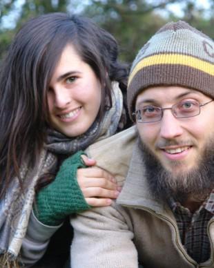 Lisa und Michael vom Experiment Selbstversorgung