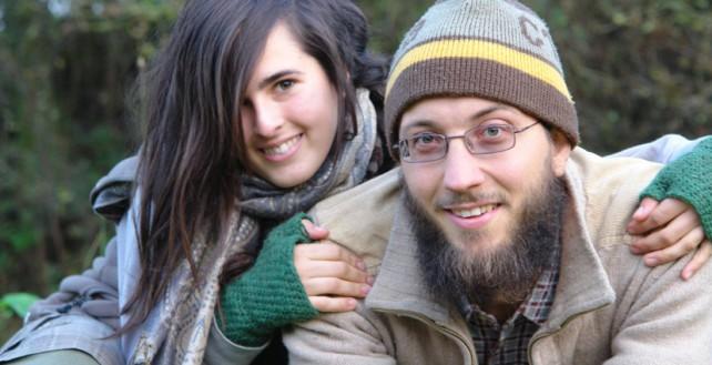 Foto von Lisa und Michael vom Experiment Selbstversorgung