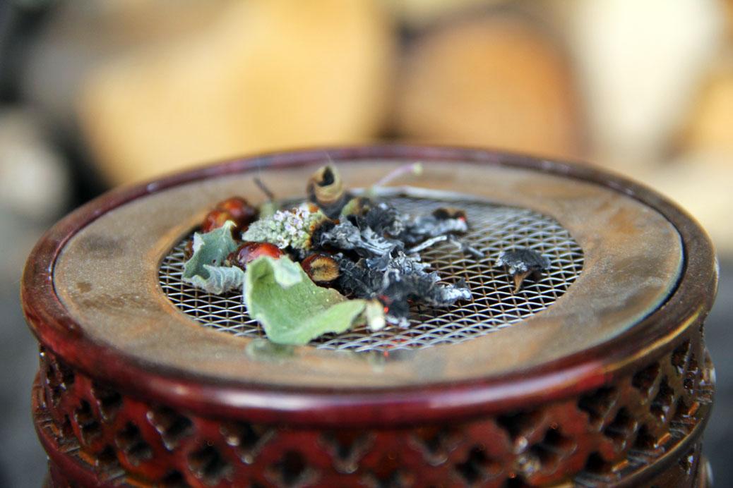 Rauchern Mit Heimischen Pflanzen