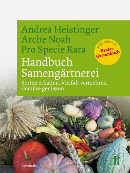 Cover des Buches Handbuch Samengärtnerei