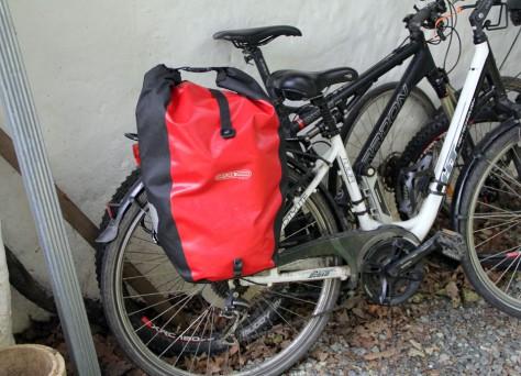 Foto von Fahrradsatteltasche