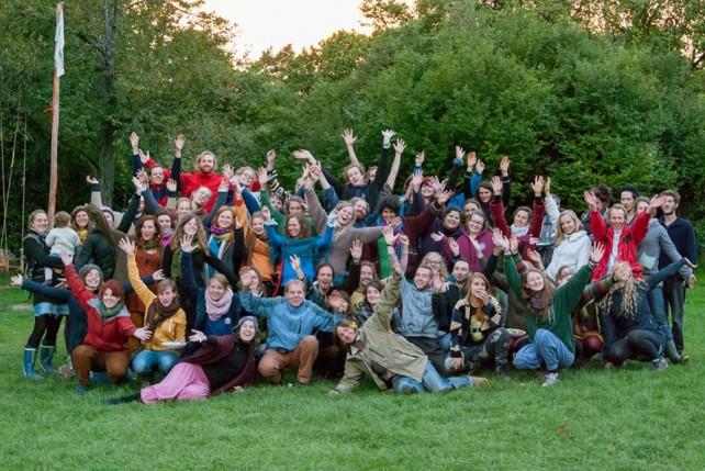 Foto von Teilnehmer*innen des utopivals