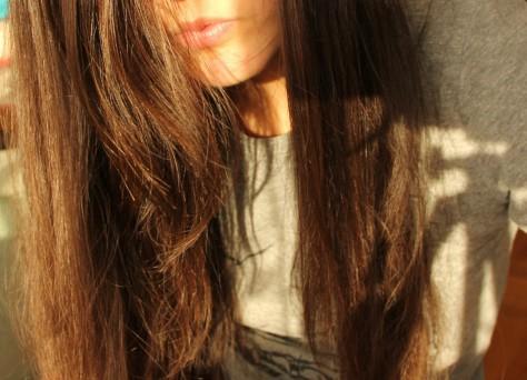 Haare ohne Shampoo gewaschen