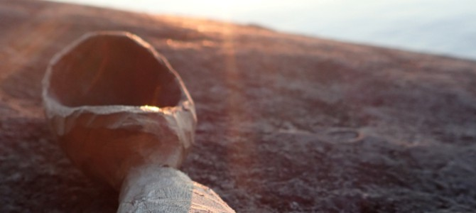 Einen Holzlöffel selber schnitzen