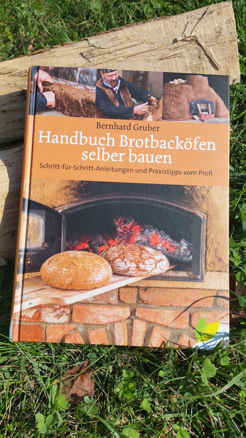 Einen Holzbackofen selber bauen - dieses Buch hilft dabei!