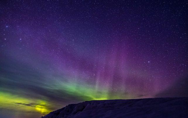 Foto von Nordlichtern