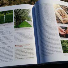 Foto einer Doppelseite des aufgeschlagenen Buches Basiswissen Selbstversorgung aus Biogärten von Andrea Heistinger, Nummer 3
